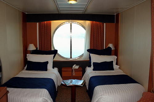 Cruise Ship Hotel Room